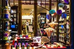 Βελγική σοκολάτα - τι μπορεί να είναι καλύτερος; Στοκ Φωτογραφίες