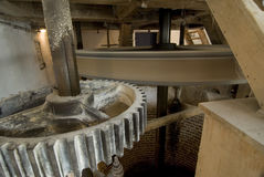 Βελγικό εσωτερικό watermill Στοκ εικόνα με δικαίωμα ελεύθερης χρήσης