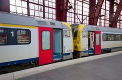 Βελγικό τραίνο Στοκ εικόνες με δικαίωμα ελεύθερης χρήσης