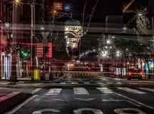 Βελιγράδι τη νύχτα Στοκ εικόνα με δικαίωμα ελεύθερης χρήσης