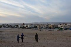Βεδουίνη τακτοποίηση στο Negev, Arara, Ισραήλ Στοκ εικόνα με δικαίωμα ελεύθερης χρήσης