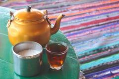 Βεδουίνο τσάι Στοκ εικόνες με δικαίωμα ελεύθερης χρήσης