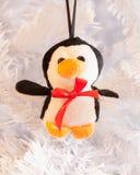 Βελούδο penguin Στοκ εικόνες με δικαίωμα ελεύθερης χρήσης