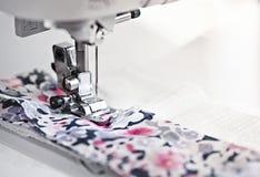 Βελόνα ράβοντας μηχανών Στοκ Εικόνα