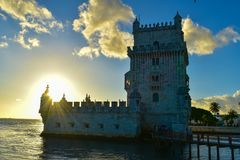 Βηθλεέμ de Πορτογαλία torre Στοκ εικόνα με δικαίωμα ελεύθερης χρήσης