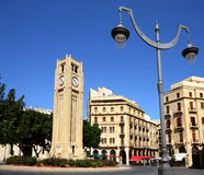 Βηρυττός στο κέντρο της πό&lambda Στοκ εικόνα με δικαίωμα ελεύθερης χρήσης