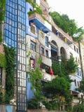 26 05 2018, Βιέννη, Αυστρία: Το σπίτι Hundertwasser είναι ένα από το μ Στοκ φωτογραφίες με δικαίωμα ελεύθερης χρήσης
