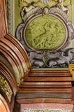 Βιέννη, αυστριακό εθνικό Lybrary Στοκ Εικόνες