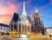 Βιέννη - καθεδρικός ναός του ST Stephen, Αυστρία Στοκ εικόνα με δικαίωμα ελεύθερης χρήσης