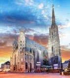 Βιέννη - καθεδρικός ναός του ST Stephen, Αυστρία Στοκ φωτογραφίες με δικαίωμα ελεύθερης χρήσης