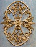 Βιέννη - μπαρόκ λεπτομέρεια του βωμού στο δευτερεύον παρεκκλησι στην εκκλησία Michaelerkirche ή του ST Michael Στοκ Εικόνες