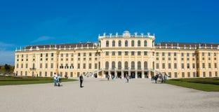 Βιέννη - 14 Οκτωβρίου: Παλάτι Schonbrunn τον Οκτώβριο Στοκ Φωτογραφία