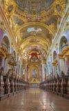 Βιέννη - σηκός της μπαρόκ εκκλησίας Jesuits. Η εκκλησία χτίστηκε μεταξύ 1623 και 1627. στοκ εικόνα με δικαίωμα ελεύθερης χρήσης