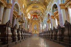 Βιέννη - σηκός της μπαρόκ εκκλησίας Jesuits στοκ φωτογραφία με δικαίωμα ελεύθερης χρήσης