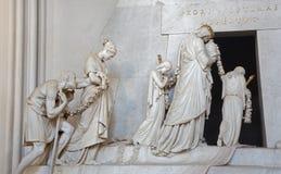 Βιέννη - τάφος της κόρης της Marie Christine της Μαρίας Theresia Στοκ φωτογραφία με δικαίωμα ελεύθερης χρήσης
