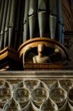 Βιέννη Stephansdom, λεπτομέρεια του οργάνου σωλήνων στοκ φωτογραφίες