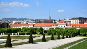 Βιέννη/Wien, Αυστρία: Πανοραμικός πυργίσκος Στοκ εικόνα με δικαίωμα ελεύθερης χρήσης
