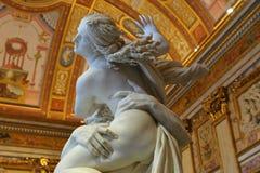 Βιασμός Proserpine, Galleria Borghese, Στοκ φωτογραφία με δικαίωμα ελεύθερης χρήσης