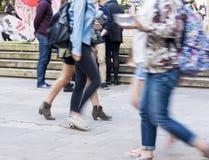 Βιασύνη απογεύματος Στοκ εικόνα με δικαίωμα ελεύθερης χρήσης