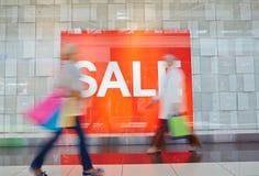 Βιασύνη για την πώληση στοκ εικόνα με δικαίωμα ελεύθερης χρήσης