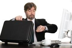 βιασύνη επιχειρηματιών στοκ εικόνες