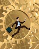 βιασύνη επιχειρηματιών ελεύθερη απεικόνιση δικαιώματος