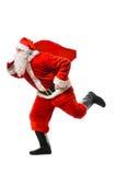 Βιασύνη παράδοσης Χριστουγέννων στοκ εικόνες