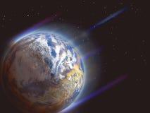 βιασύνη πλανητών διανυσματική απεικόνιση