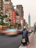 Βιασύνη της Ταϊπέι Στοκ φωτογραφίες με δικαίωμα ελεύθερης χρήσης