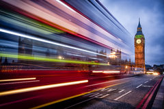 Βιασύνη Big Ben Στοκ Φωτογραφίες