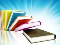 βιβλία ανασκόπησης που χ&rho Στοκ Εικόνες