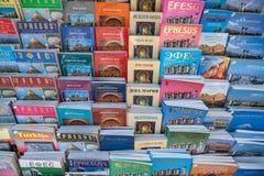 Βιβλία για αρχαίο Ephesus στο κατάστημα αναμνηστικών Στοκ φωτογραφία με δικαίωμα ελεύθερης χρήσης