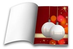 Βιβλία εικόνων σφαιρών Χριστουγέννων Στοκ φωτογραφίες με δικαίωμα ελεύθερης χρήσης