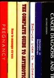 βιβλία ιατρικά Στοκ φωτογραφία με δικαίωμα ελεύθερης χρήσης