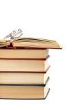 Βιβλία και γυαλιά Στοκ Εικόνες