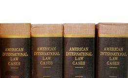 βιβλία νομικά Στοκ Εικόνα