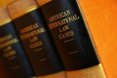 βιβλία νομικά Στοκ Εικόνες