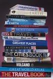 Βιβλία ταξιδιού - παγκοσμίως στοκ εικόνες