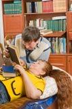 βιβλία όπως τους διαβασ& Στοκ εικόνα με δικαίωμα ελεύθερης χρήσης