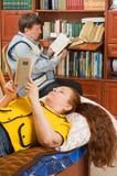 βιβλία όπως τους διαβασ& Στοκ Εικόνες