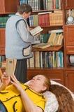 βιβλία όπως τους διαβασ& Στοκ φωτογραφίες με δικαίωμα ελεύθερης χρήσης