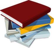 βιβλία Ελεύθερη απεικόνιση δικαιώματος