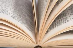 βιβλίο ανοικτό Γνώση Στοκ Φωτογραφίες