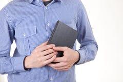 Βιβλίο εκμετάλλευσης ατόμων στοκ φωτογραφία