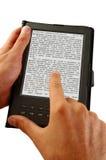 βιβλίο ηλεκτρονικό Στοκ φωτογραφία με δικαίωμα ελεύθερης χρήσης
