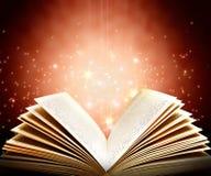 βιβλίο μαγικό Στοκ εικόνες με δικαίωμα ελεύθερης χρήσης