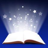 βιβλίο μαγικό Στοκ εικόνα με δικαίωμα ελεύθερης χρήσης