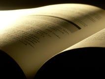 βιβλίο που ανοίγουν Στοκ φωτογραφία με δικαίωμα ελεύθερης χρήσης