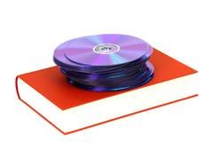 βιβλίο dvds Στοκ φωτογραφίες με δικαίωμα ελεύθερης χρήσης