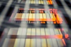 Βιβλίων δεσμευτικό ξηρότερο πορτοκαλί BL παραγωγής εργοστασίων αλυσίδων βιομηχανικό Στοκ Φωτογραφία